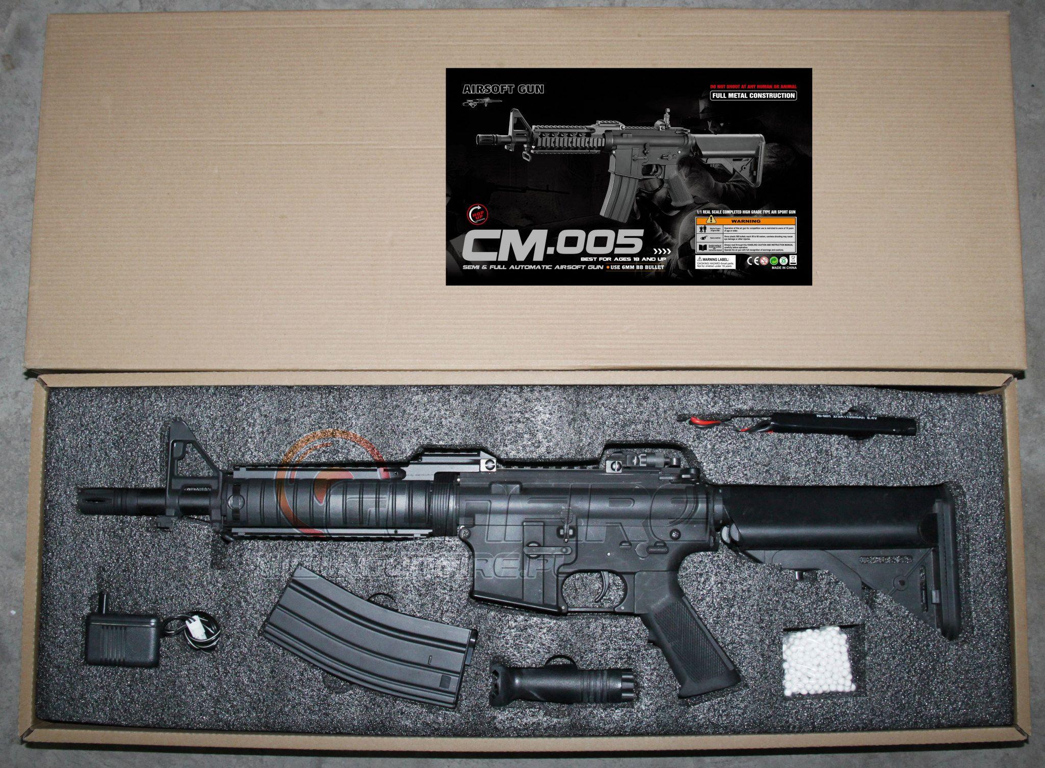Cyma anuncia que fabricará M4 - M16 CM-005