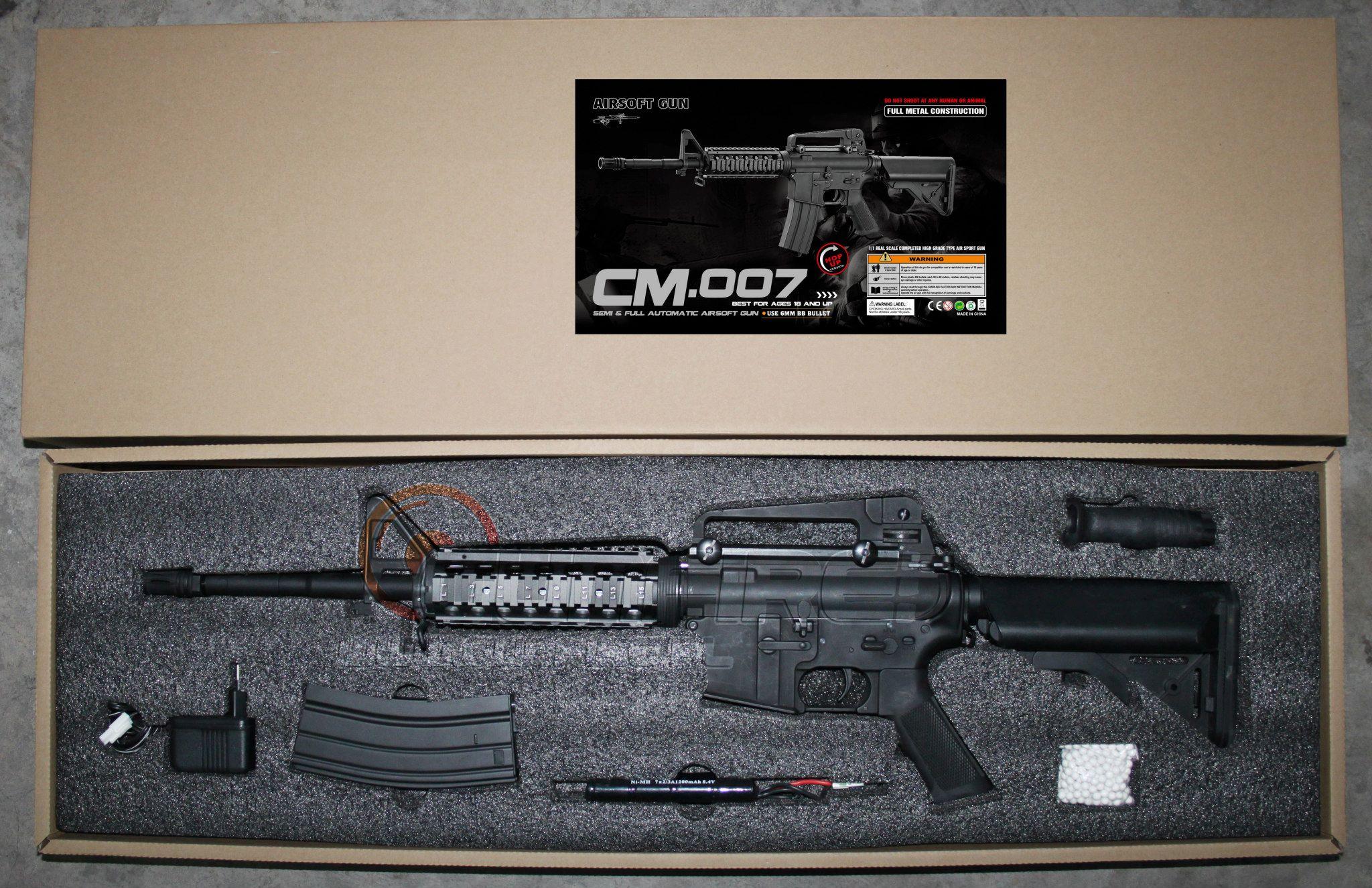 Cyma anuncia que fabricará M4 - M16 CM-007