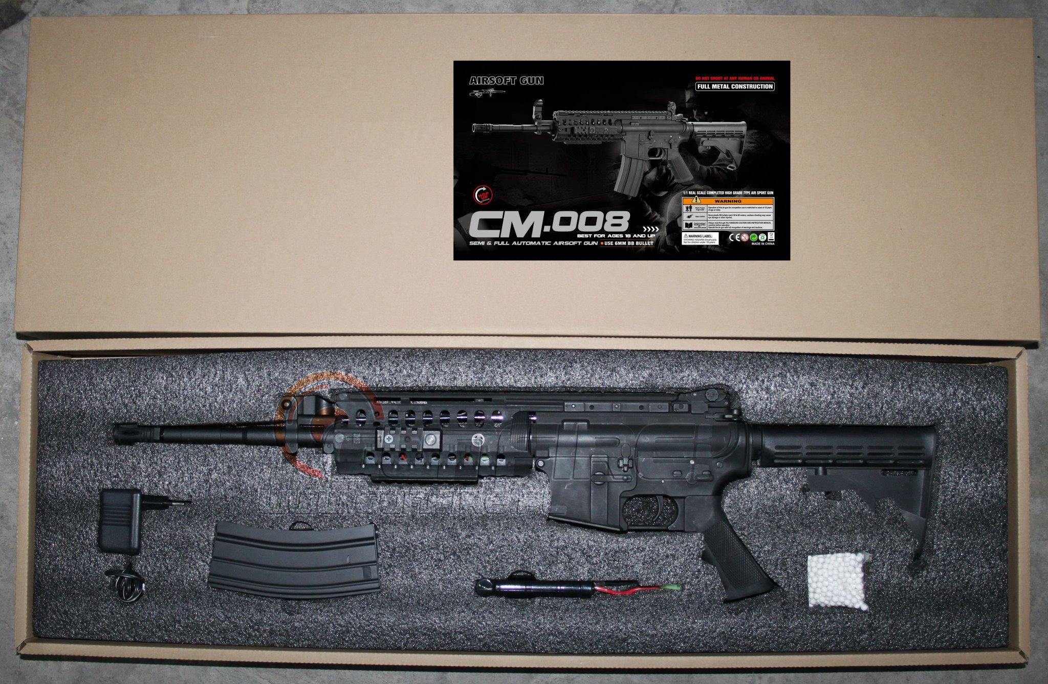 Cyma anuncia que fabricará M4 - M16 CM-008