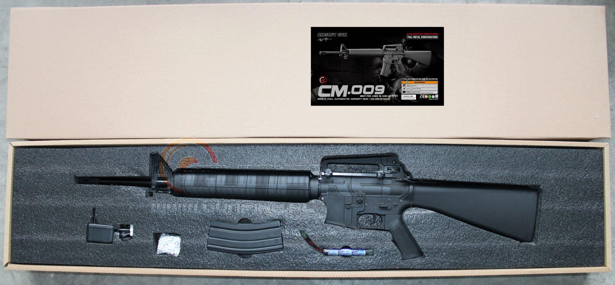 Cyma anuncia que fabricará M4 - M16 CM-009