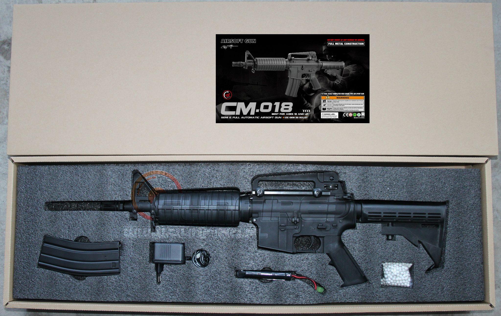 Cyma anuncia que fabricará M4 - M16 CM-018