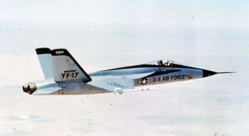 YF-16 V.s. YF-17 F17-6