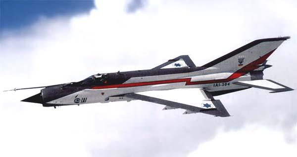 الميج-21-2000 الإسرائيلية Mig21-2000-1