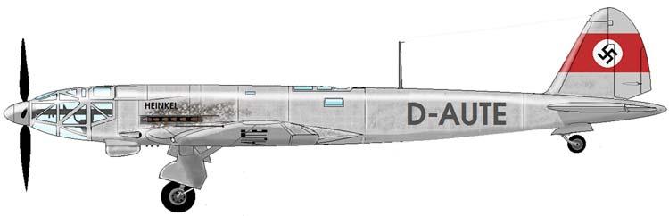 Heinkel He 119 V4 (Planet Models 1:72) He119-c1