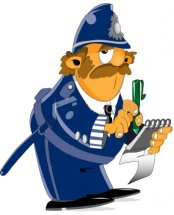 Capi muy feliz cumpleaños Policia