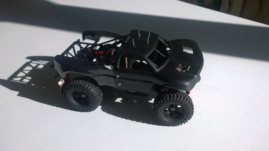 Mini Trophy Truck 1/24 10