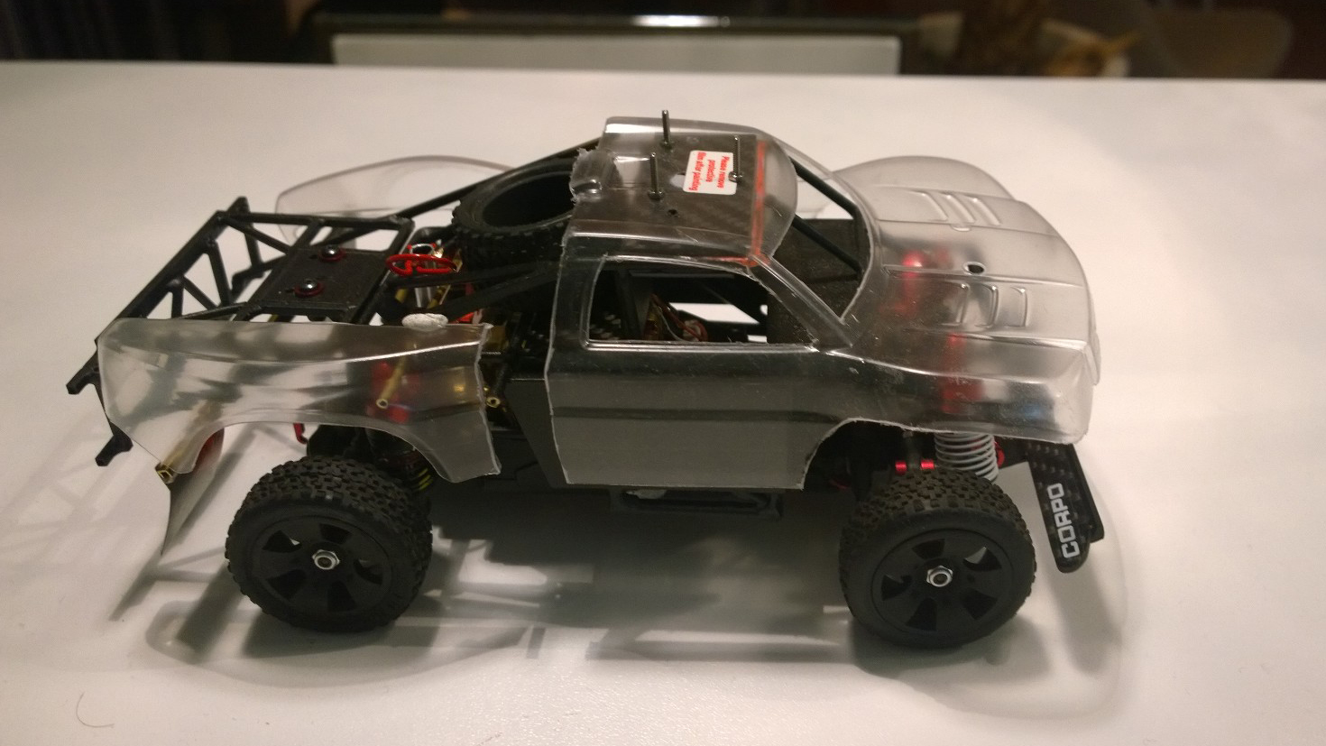 Mini Trophy Truck 1/24 5