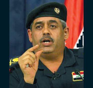 خلافات بين المالكي والبولاني تطيح باللواء خلف.. إقالة قائد عمليات وزارة الداخلية.. دون علم الوزير Abdul_kareem_khalaf_0709009