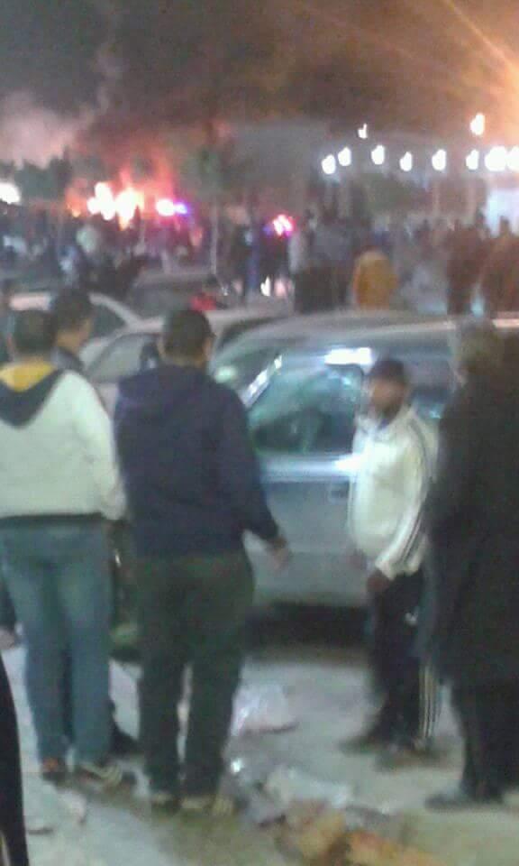 """انفجارفي بنغازي استهدف المصلّين في جامع """"بيعة الرضوان"""".. و سقوط قتلى وجرحى DUP1neUX4AAAEkJ"""