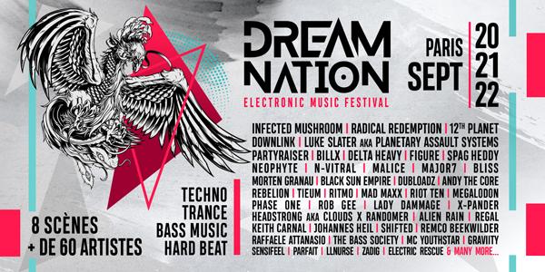21 septembre 2019 // DREAM NATION FESTIVAL // PARIS Main-Forum