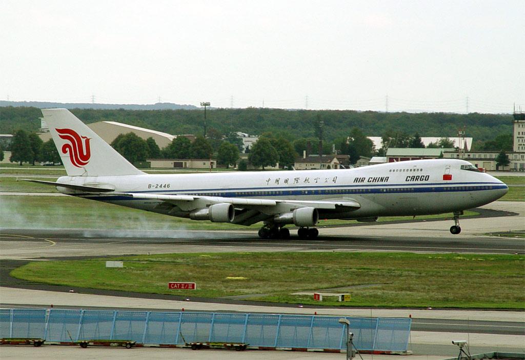 Compagnies d'aviation Ca-747f