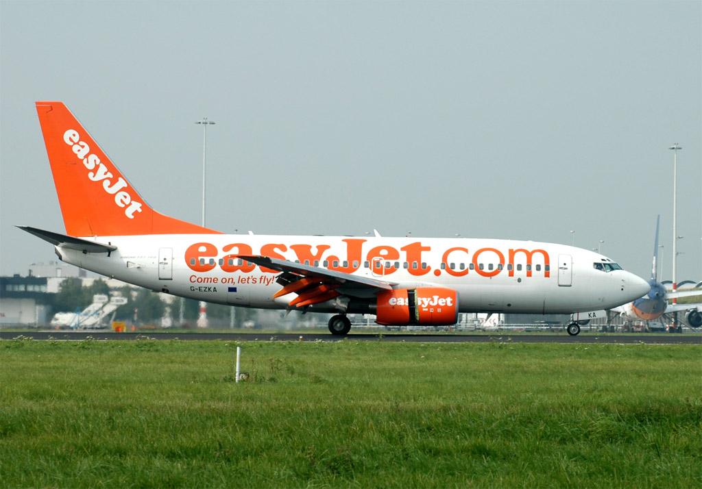 Compagnies d'aviation U2-737-73v