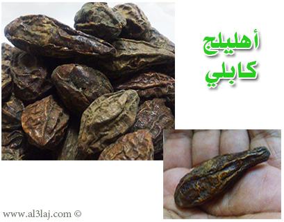 عشبة الإهليلج الأسود Kabuli-myrobalan