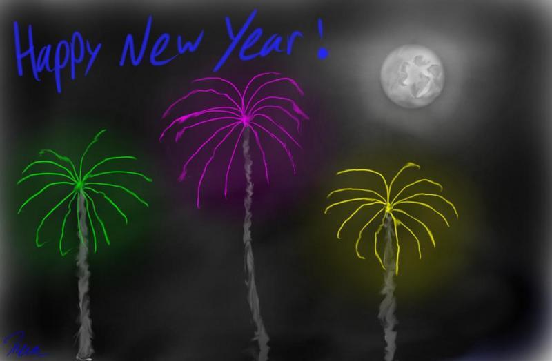 كل عام وانتم بخير/ Happy new year Happy_new_year