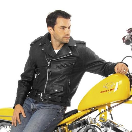 عندنا وبس موضه 2010(للشباب) 4050_Basic_Motorcycle_Jacket_Black