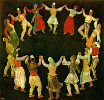 Ancient dance. Image0000000908