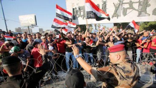أهم وأبرز تطورات ثورة الكرامة والغضب العراقي التي جرت يوم 21/07/2021  التحريض سلاح الطرف الثالث: تصريح هؤلاء السبب الرئيسي في مقتل الناشطين والمتظاهرين من خلال التحريض العلني للقتل، واته Tadhratiraq02_251019