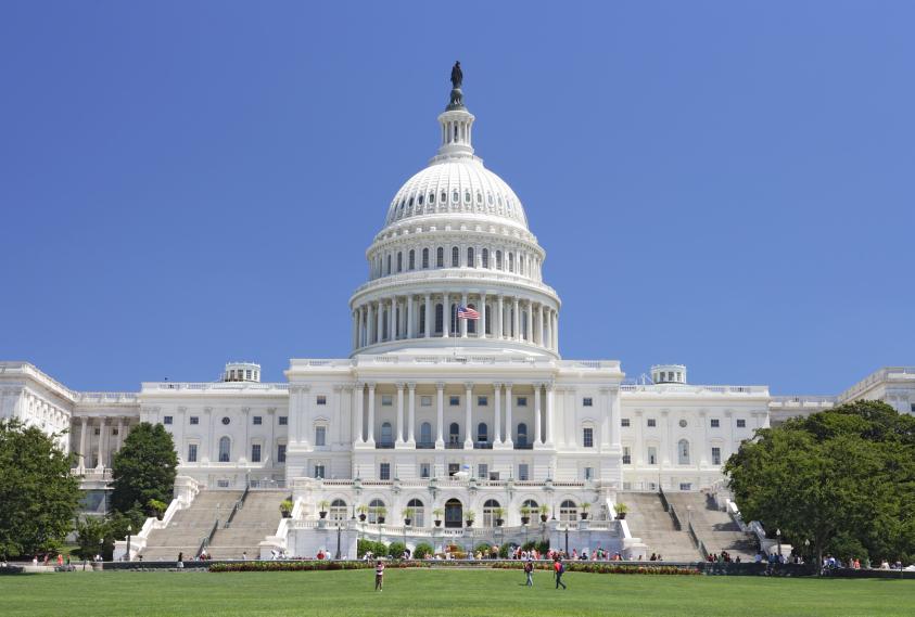 George Washington vs Abe Lincoln Washington-DC