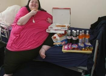 Gruaja më e madhe në Britani, 254 kg 254kg