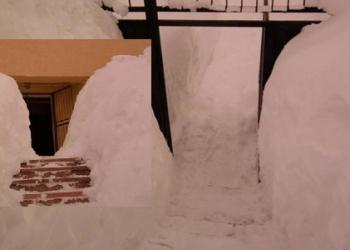 Tunel për të hyrë në Gjykatën e Tropojës (FOTO LAJM) Tropoje-tuneli-ne-gjykate1