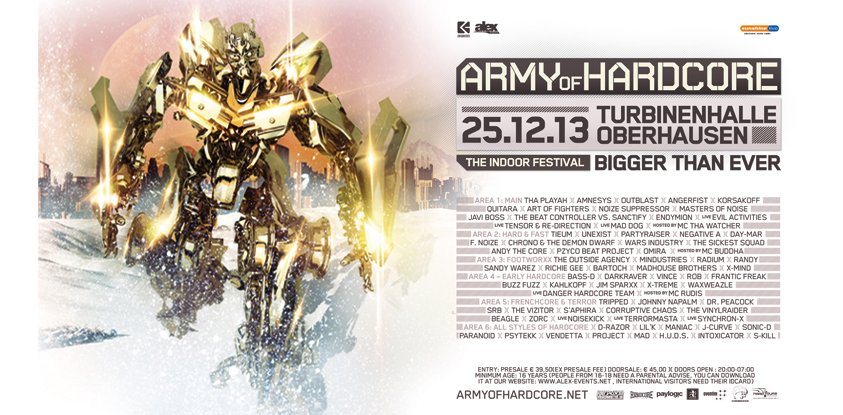 [ ARMY OF HARDCORE - 25/12/2013 - Turbinenhalle Oberhausen - Allemagne ] AoH-A5-Spread-Syn-hp2