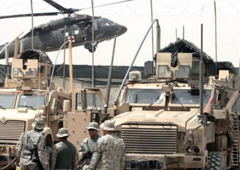 بالتفاصيل.. انتحاريون يقتحمون قاعدة عسكرية أمريكية في مخمور       US.J.Hl