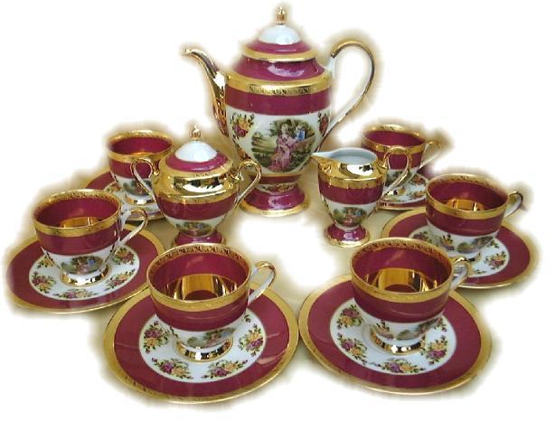 تشكيلة رائعة من أباريق وأكواب الشاي Tea.S.2