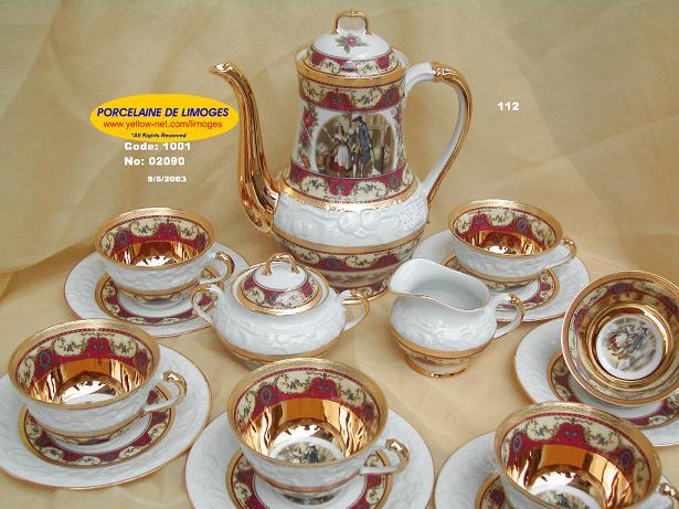 تشكيلة رائعة من أباريق وأكواب الشاي Tea.S.3