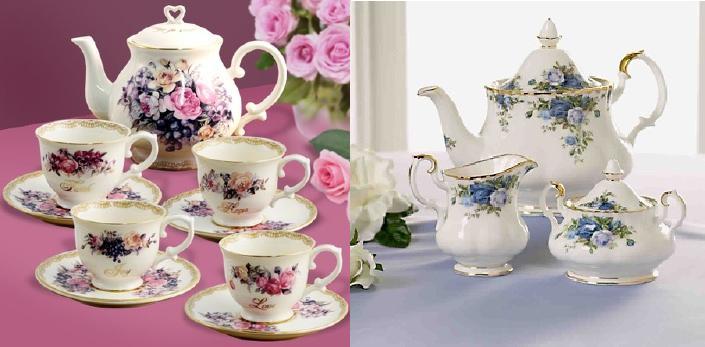 تشكيلة رائعة من أباريق وأكواب الشاي Tea.S.4