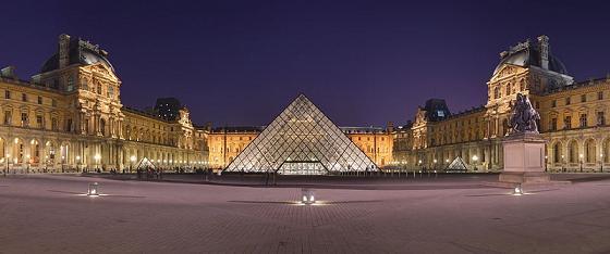 متحف اللوفر في باريس Louver.M.2