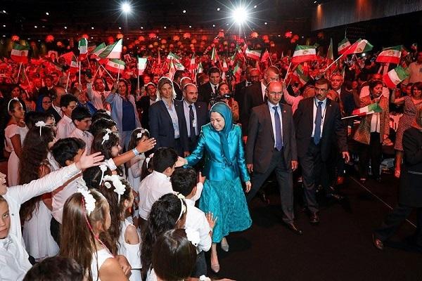 المؤتمر السنوي العام للمقاومة الإيرانية في باريس بفرنسا Mr.R.P3