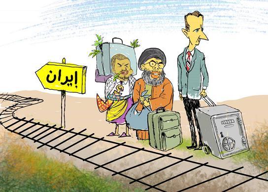 كاريكاتير الثورة السورية - صفحة 5 Ela.IRAN