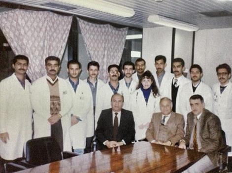 الدكتور حكمت عبد الرسول من اعلام الطب في العراق  Abdul.RS.5