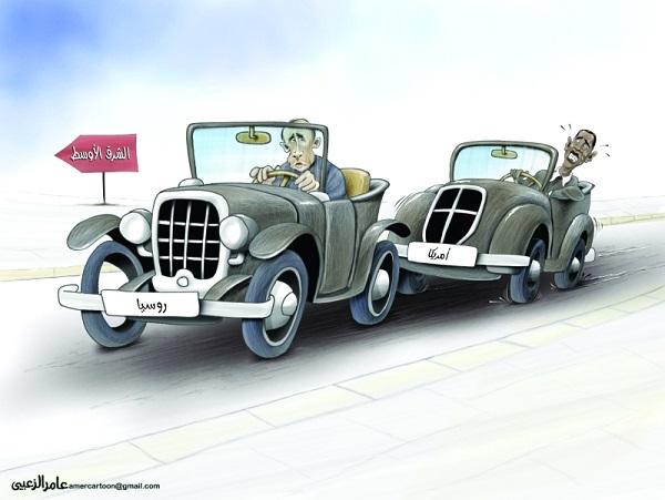 كاريكاتير - الشرق الأوسط       Awsatt.Sh