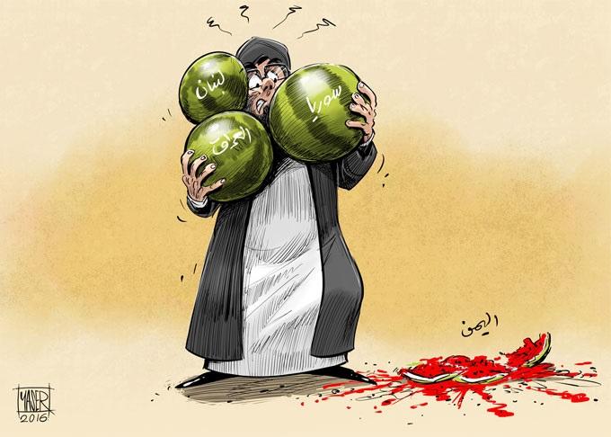 نتيجة حتمية..!! لاطماع ايران الفارسية في الوطن العربي      Ragee.IRN
