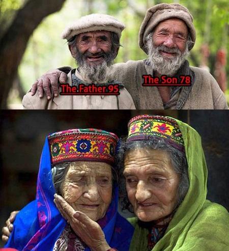 قصة قبيلة يعيش سكانها حتى ١٤٥ سنة وينجبون حتى الـ ٩٠      Honza.2