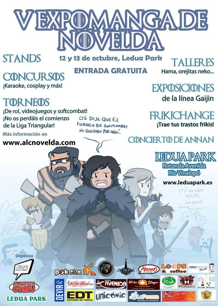 V EXPOMANGA DE NOVELDA (12-13 Octubre) Cartel-V-ExpoManga-de-Novelda-731x1024