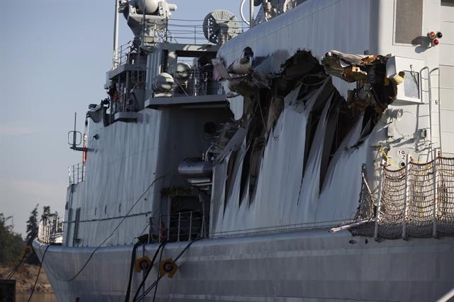 """Destroyers porte-hélicoptères classe """"IROQUOIS"""" Algonq-crash"""
