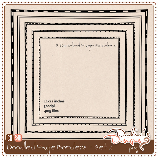 More Doodled Page Borders *freebie* {CU} {S4H} Folder2
