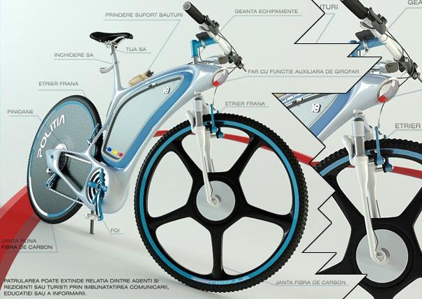 Велосипед для полиции Police-bike-2