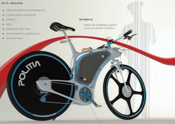 Велосипед для полиции Police-bike