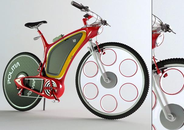 Велосипед для полиции Police-bike1