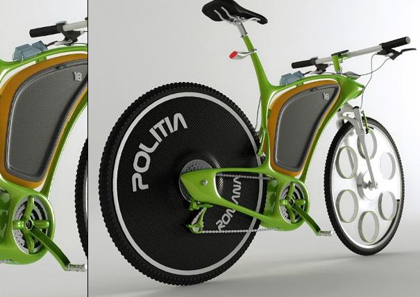 Велосипед для полиции Police-bikes