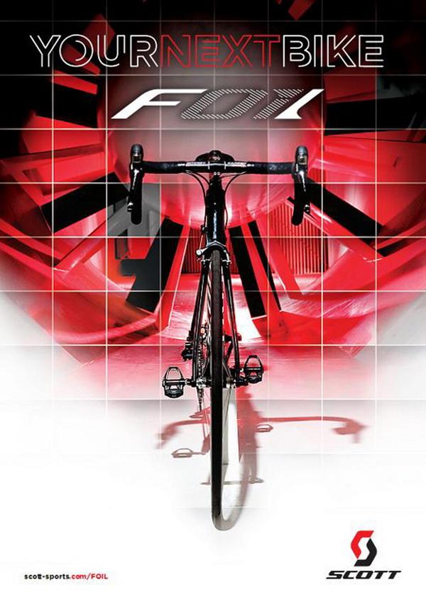 Плевать на аэродинамику или почему товарищи с фирмы Scott вообще любят эту аэродинамику Foil_Your_Next_Bike_500