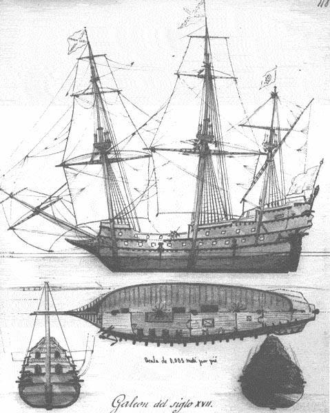"""""""Galeones Españoles"""" Galleon-2"""
