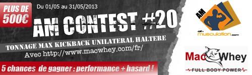 Am Concours De Kickback Avec Macwhey Compet-AM-N20