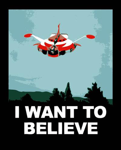 Poster X-Files Iwanttobelieve