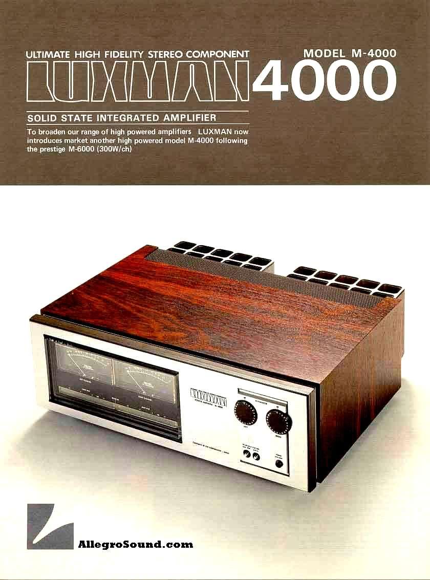 Vúmetros Luxman_M-4000_2