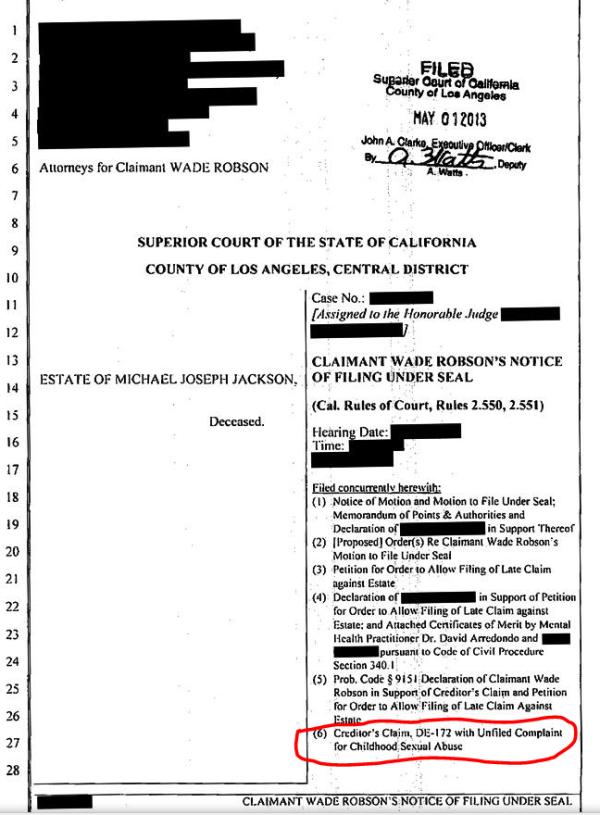 [ACCUSE RIGETTATE] Il coreografo Wade Robson accusa MJ di molestie  - Pagina 6 Wade-robson-creditor-claim