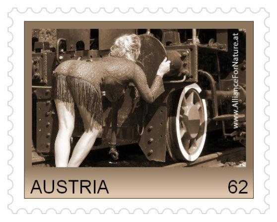 Wie überprüft die Post das Copyright bei Person. Briefmarken? Marke_pufferkuesserin